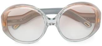 Chloé Eyewear oversized round sunglasses
