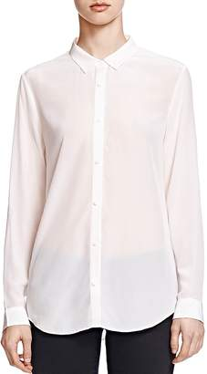 The Kooples Silk Crepe de Chine Shirt