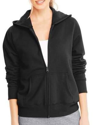 Hanes Women's Fleece Zip Hood Jacket