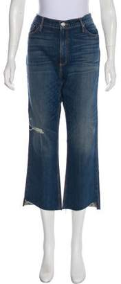 Black Orchid High-Rise Straight-Leg Jeans