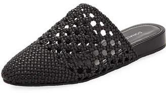 Donald J Pliner Rothkosp Woven Leather Slide Mule