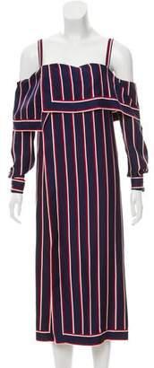 Monse Silk Striped Tunic