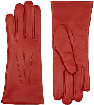 Harrods Isabelle Cashmere-Lined Leather Gloves