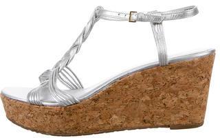 Kate SpadeKate Spade New York Metallic Wedge Sandals