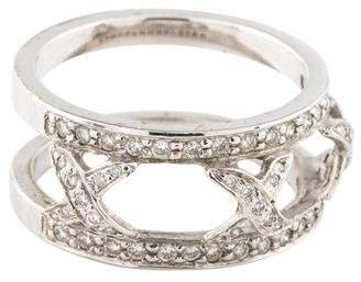 Hidalgo 18K Diamond X Jacket Ring