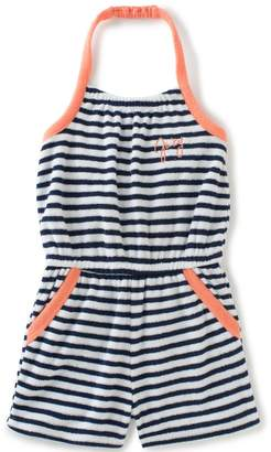 Juicy Couture Stripe Romper for Girls