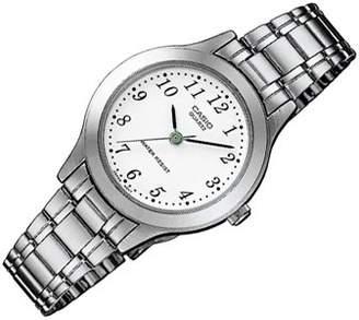 Casio Women's Analogue Quartz Watch with Stainless Steel Bracelet LTP-1128PA-7B