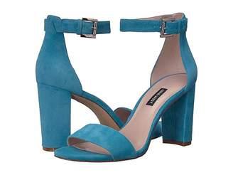 d6d7b732ab74 Nine West Blue Heeled Women s Sandals - ShopStyle