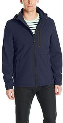 Perry Ellis Men's Stetch Poly Packable Jacket