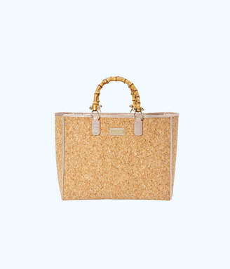 Lilly Pulitzer Soiree Cork Tote Bag