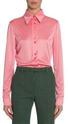 Givenchy Shiny Jersey Blouse