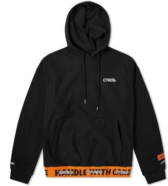 Heron Preston Handle Rib Popover Hoody