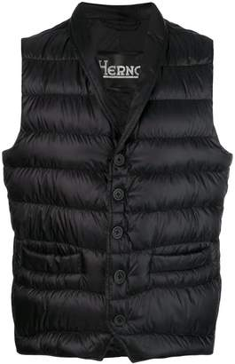 Herno padded waistcoat