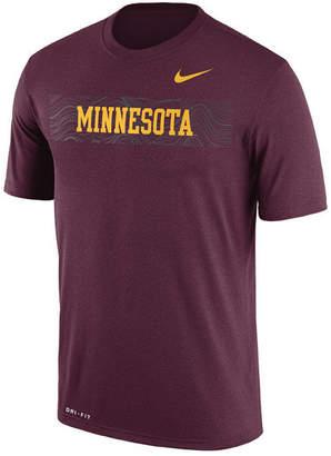 Nike Men Minnesota Golden Gophers Legend Staff Sideline T-Shirt