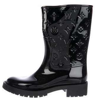 Louis Vuitton Monogram Rain Boots