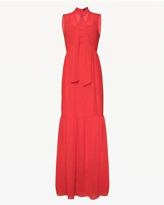 Juicy Couture Tie Front Maxi Dress
