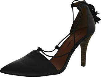 Lucky Brand Women's Sabreena Leather Ankle-High Leather Pump - 9.5M
