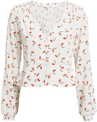 Intermix Sienna Cherry Print Blouse