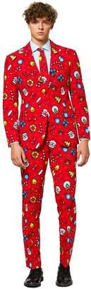 Opposuits Men's OppoSuits Slim-Fit Dapper Decorator Novelty Suit & Tie Set