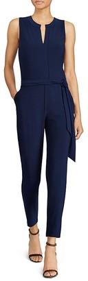 Lauren Ralph Lauren Slim Leg Jumpsuit $155 thestylecure.com