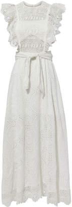 Nightcap Clothing Eyelet Apron Dress