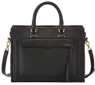 Rebecca Minkoff Bree Large Top Zip Satchel Bag