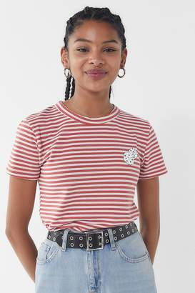 Truly Madly Deeply Striped Dice Tee