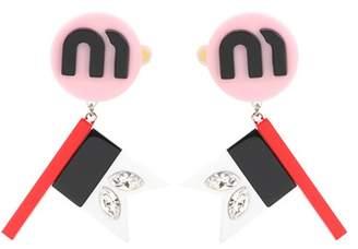 Miu Miu Clip-on earrings