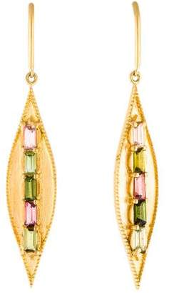 Jamie Wolf 18K Tourmaline Earrings