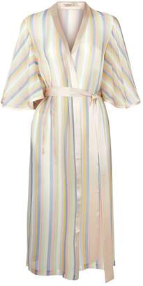 Sorbet Morgan Lane Clemence Striped Robe