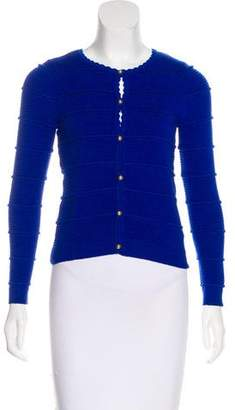 Milly Textured Knit Cardigan
