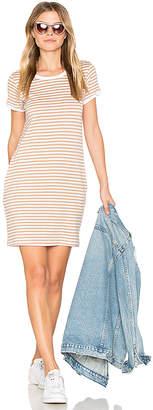 Nation LTD Olivia Pocket T Shirt Dress in Tan $110 thestylecure.com