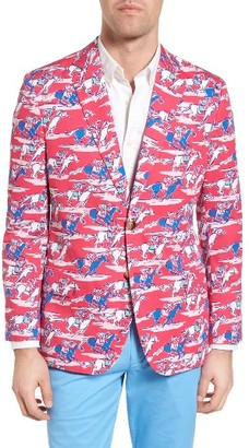 Men's Vineyard Vines Horse Repeat Print Sport Coat $595 thestylecure.com