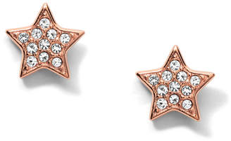 Fossil Star Rose Gold-Tone Steel Studs