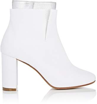 MM6 MAISON MARGIELA Women's Customizable Leather & Canvas Ankle Boots