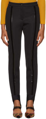 Fendi Black Elastic Band Leggings