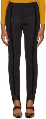 Fendi Black Elastic Band Leggings