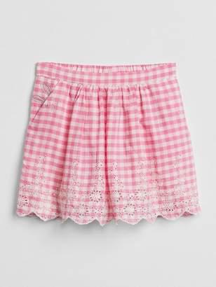 Gap   Sarah Jessica Parker Gingham Skirt
