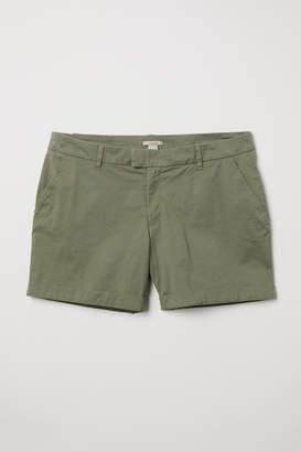 H&M H&M+ Chino Shorts - Green