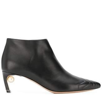 Nicholas Kirkwood Mira Pearl low boots
