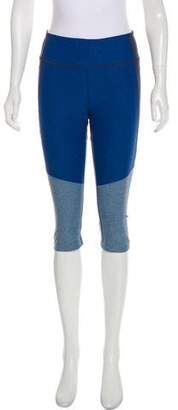 Outdoor Voices Tri-Tone Kneecap Cropped Leggings w/ Tags