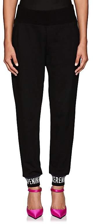 Women's Logo Cotton Terry Sweatpants