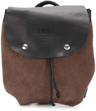 MM6 MAISON MARGIELA front logo backpack
