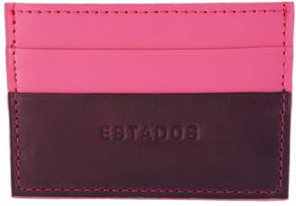Estados Luxury Leather Card Holder