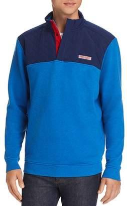 Vineyard Vines Mixed-Media Pullover Sweatshirt