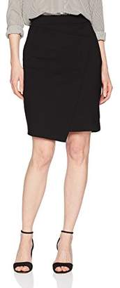 Three Dots Women's Ponte Tight Mid Skirt