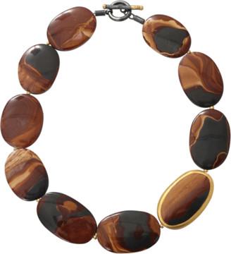 Yossi Harari Tiger Eye Agate Necklace