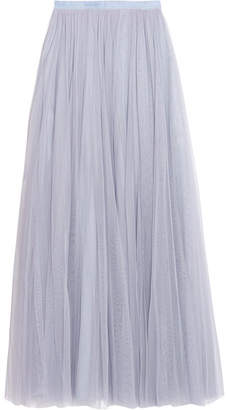 Needle & Thread - Tulle Maxi Skirt - Light blue $175 thestylecure.com