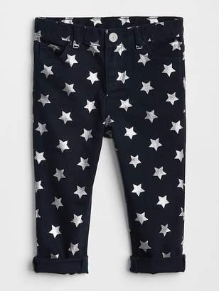 Gap Star Foil Girlfriend Jeans