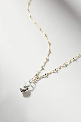 Phyllis + Rosie Double Face Heart Necklace